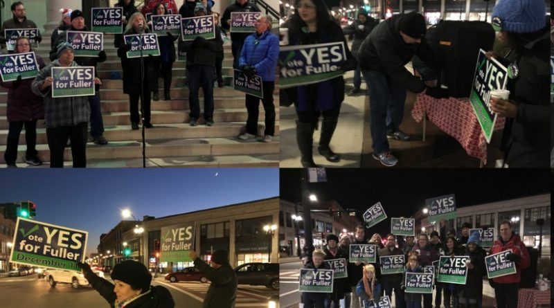 Yes for Fuller! Hosts Hot Chocolate Rally – Election Day is Tuesday!