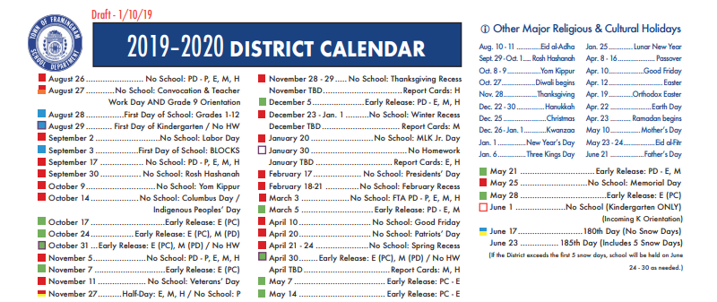 February 21st 2020 Jewish Calendar UPDATED: Superintendent Seeking More Feedback on 2019 2020