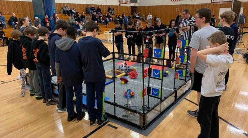 WalshBots Team Qualifies For Regional Robotics Championship
