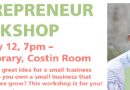Framingham Library Kicks Off Entrepreneur Workshop Series Tuesday