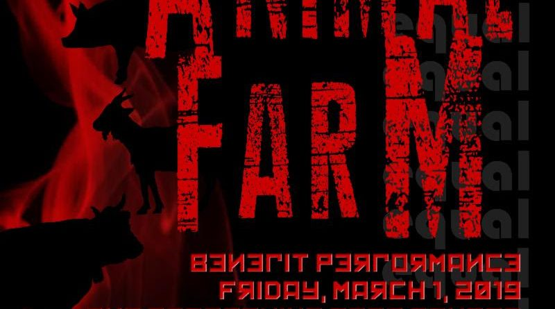 Benefit Performance of Animal Farm March 1 at Framingham High