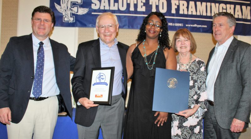 PHOTOS: Hoops and Homework Receives Jim O'Connor Award at 27th Annual Salute To Framingham