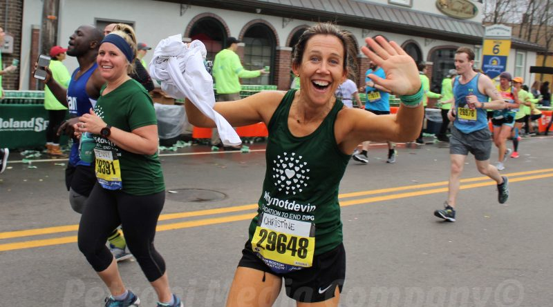 Photo of the Day: Framingham's Christine Suau At Mile 6