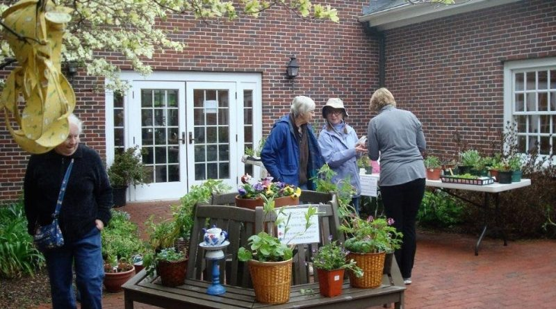 Plymouth Church Hosts Annual Plant, Rummage, and Bake Sales