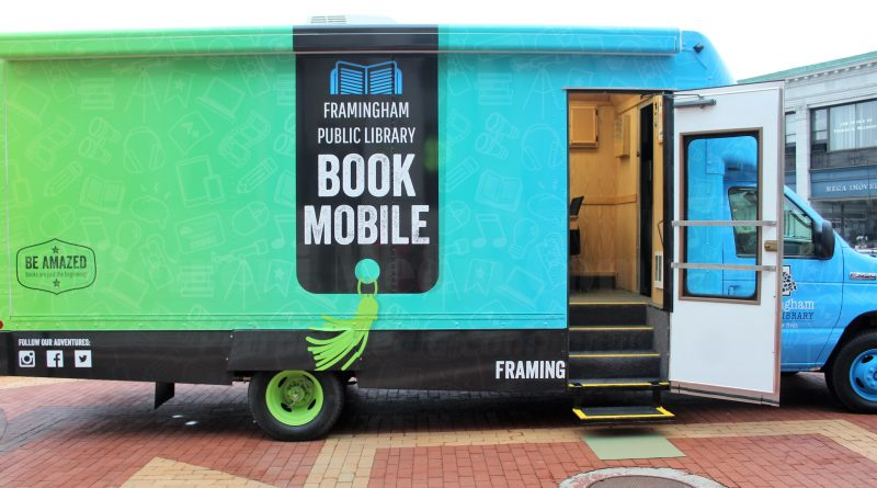 Bookmobile Coming To Framingham Farmers Markets and Friday Night Concerts