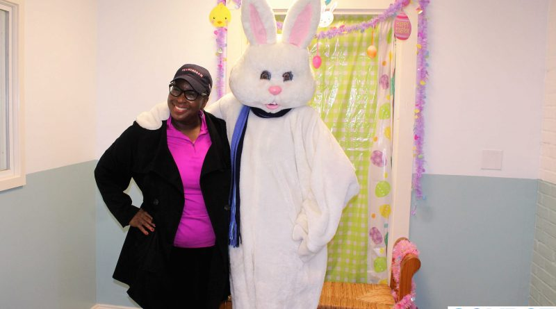 Photo of the Day: Mayor Spicer & the Bunny