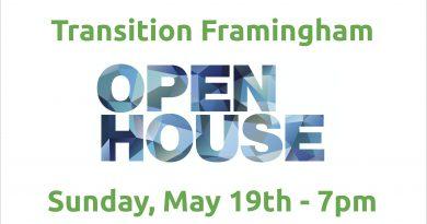 Transition Framingham Open House Sunday Night