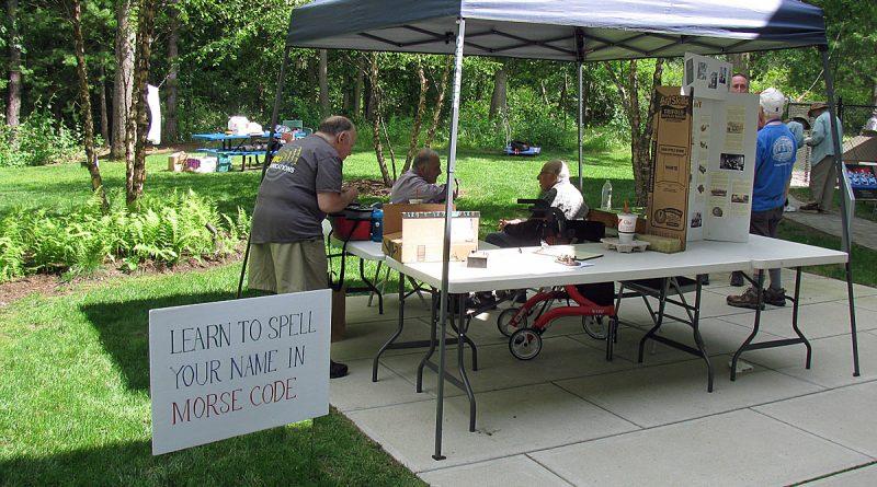 PHOTOS: Framingham Amateur Radio Association Holds Field Day 2019 at McAuliffe Library