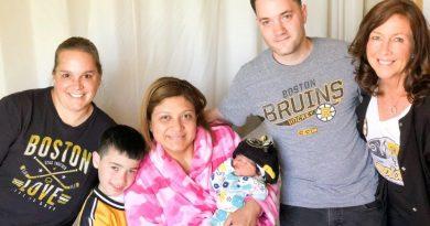 New Bruins Fan at MetroWest Medical Center