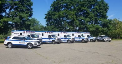 Photo of the Day: Brewster Ambulance Arrives in Framingham