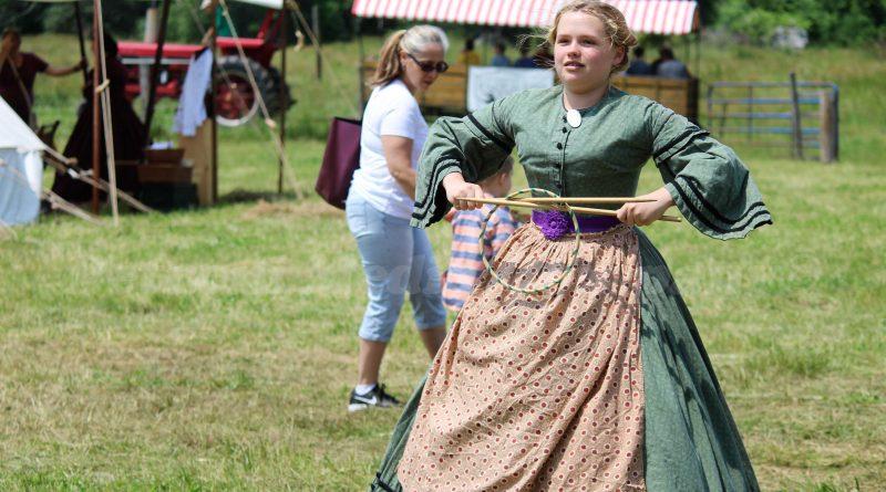 SLIDESHOW: Civil War Encampment at Eastleigh Farm