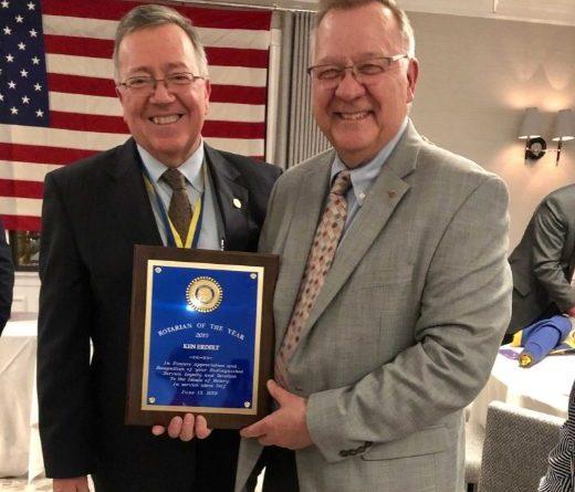 VIDEO & Photos: Erdelt Named Framingham Rotarian of the Year