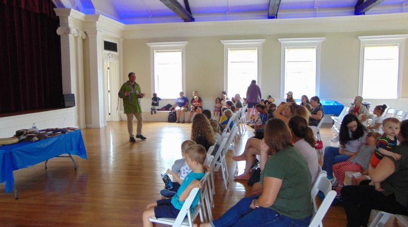 VIDEO: Larry Spotted Crow Mann Entertains at History Center's Summertime on the Common