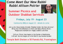 Shabbat Under Stars Services With New Rabbi