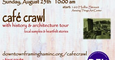 Discover Downtown on Sunday's 3rd Annual Cafe Crawl