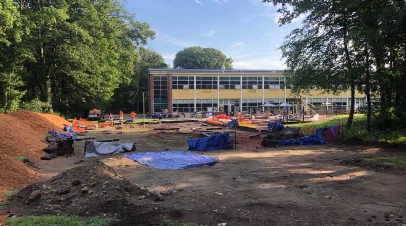mccarthy playground build -- courtesy