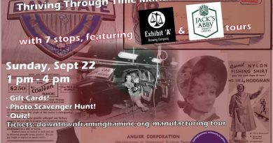 Tickets Available For Thriving Through Time Manufacturing Bus Tour on Sunday