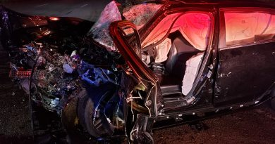 UPDATED: 3 Injured in 2 Vehicle Saturday Morning Crash on Route 9