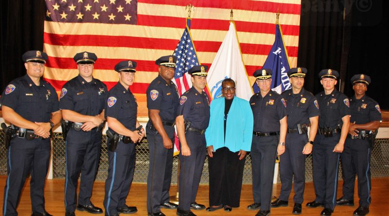 Framingham Swears in 5 New Police Officers