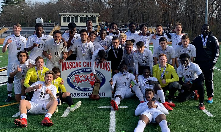 Framingham State Men's Soccer Wins First Conference Championship Since 2011