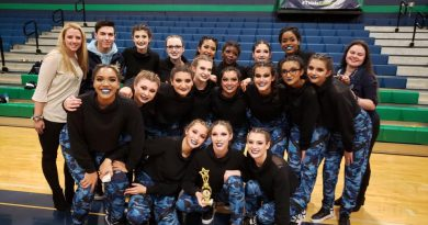 Framingham Dance Team Captures First Place and Sportsmanship Award