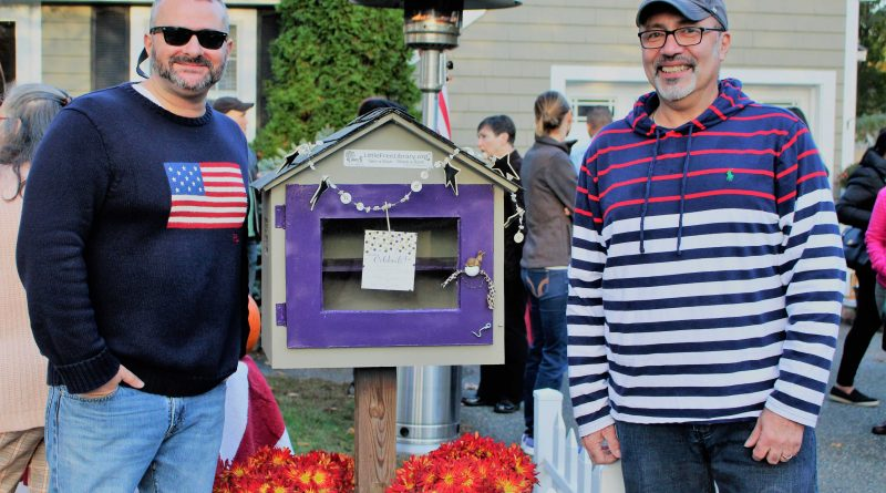 PHOTO OF THE DAY: Little Free Library Dedicated in Framingham Neighborhood