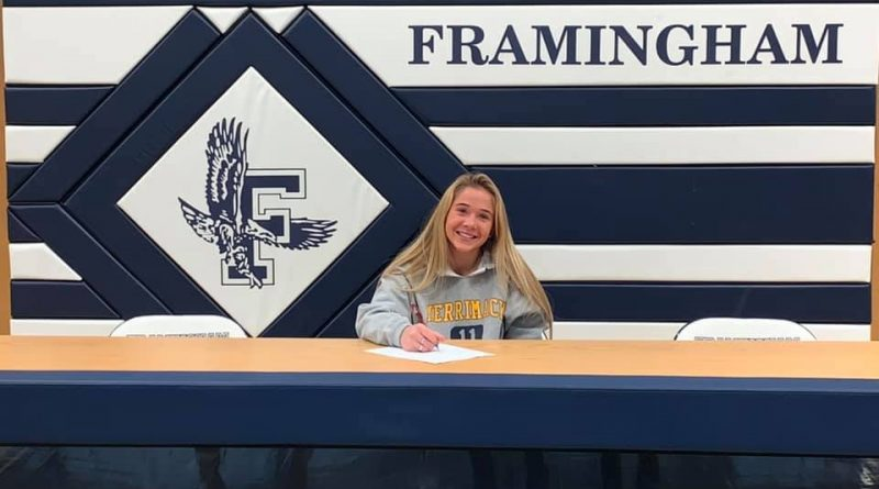 PHOTO OF THE DAY: Parker Signs With Merrimack College
