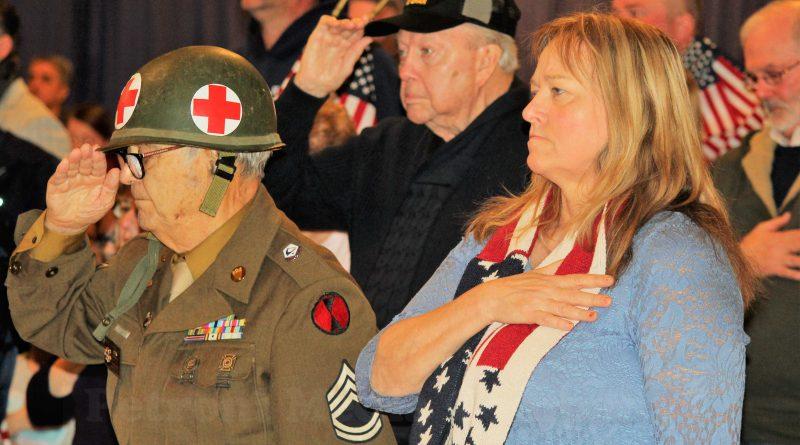 PHOTO OF THE DAY: Framingham Marks Veterans Day