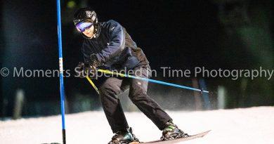 Keane & Pollak Score for the Flyers Alpine Ski Team