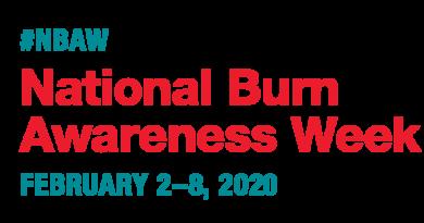 February 2-8 is National Burn Awareness Week