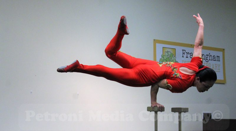 PHOTO OF THE DAY: Chinese Acrobat Performs at Framingham Library
