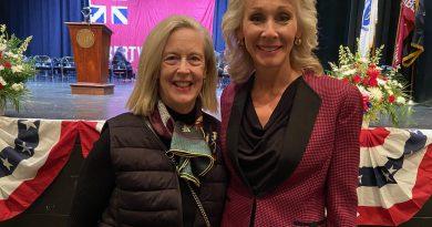 Saint Aubin Endorsed By Taunton's First Female Mayor