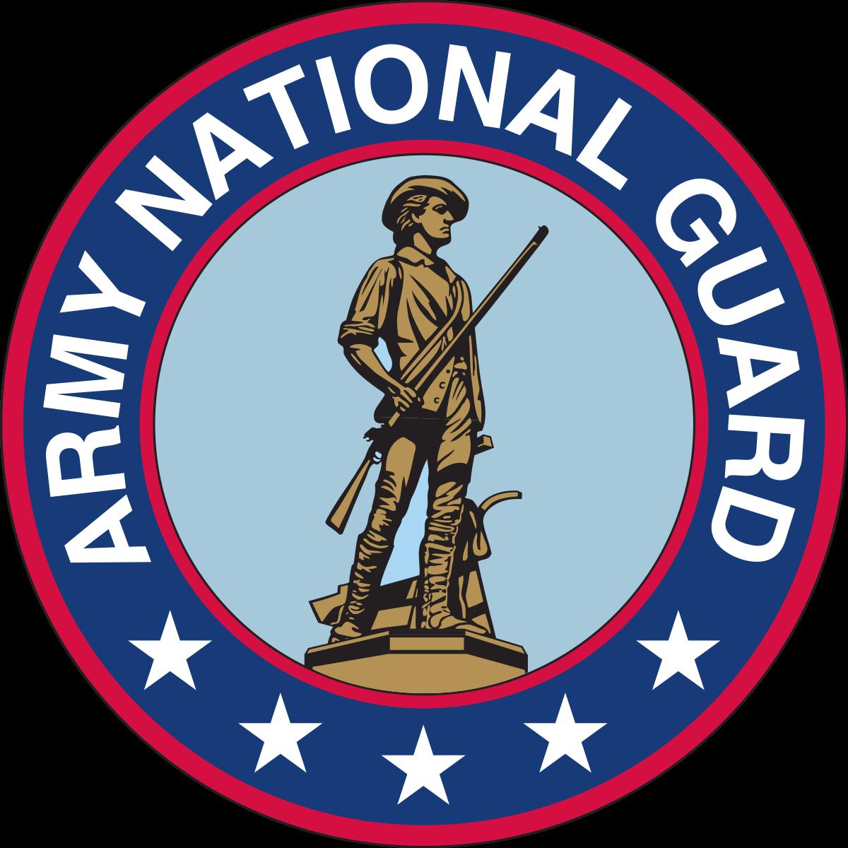 army national guard  logo.