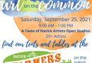 Art On the Common & Natick Farmers' Market Saturday