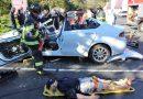PHOTOS: Ashland Fire Demonstrates Jaws of Life For MassBay Automotive Students